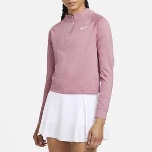 NikeCourt XS Dri-FIT Tennis Top in Elemental Pink